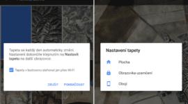 Google Tapety – nová aplikace v Obchodě Play