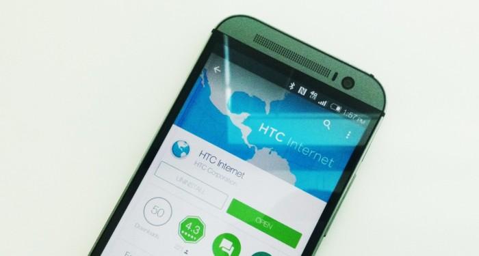 """HTC """"zařízlo"""" vlastní webový prohlížeč"""