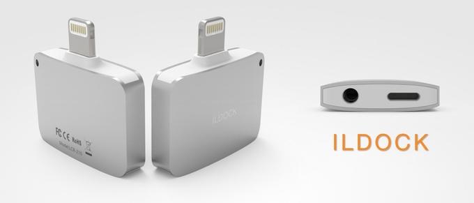 Rozšíření pro iPhone pro nabíjení a sluchátka v jednom