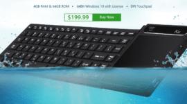 Zajímavé zařízení - klávesnice s Windows 10 [sponzorovaný článek]