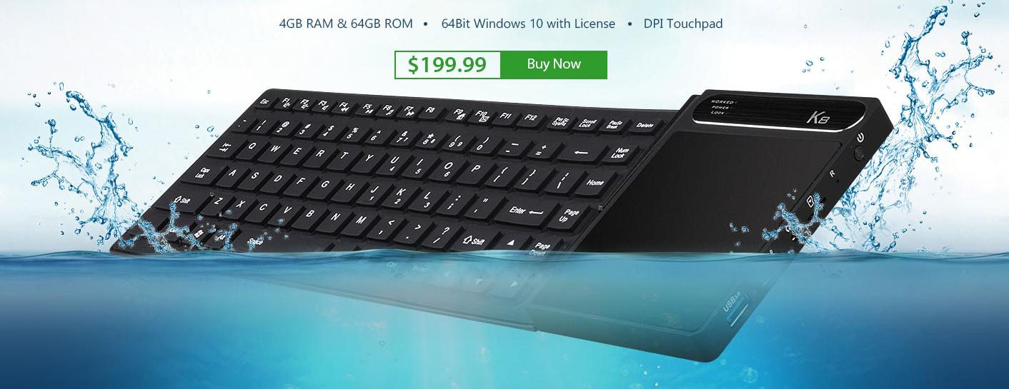 Zajímavé zařízení – klávesnice s Windows 10 [sponzorovaný článek]