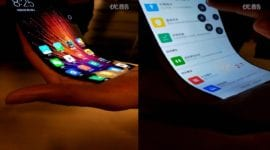 Xiaomi si pohrává s ohebným displejem