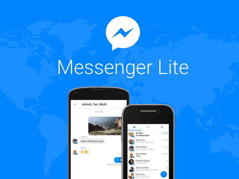 Facebook Messenger Lite je již oficiálně i pro ČR [aktualizováno]