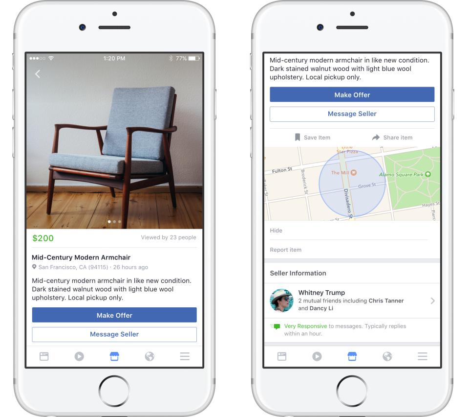 Facebook Marketplace přichází do Česka [aktualizováno]