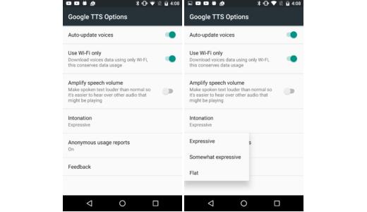 Text-to-speech 3.10 – změna intonace a vyšší hlasitosti