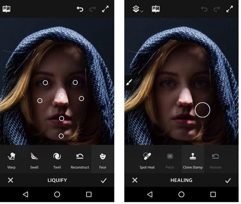 Společnost Adobe představila hned tři grafické aplikace pro Android