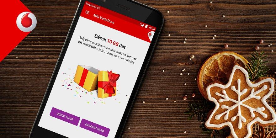 Vánoce u Vodafonu – dárek v podobě 10 GB