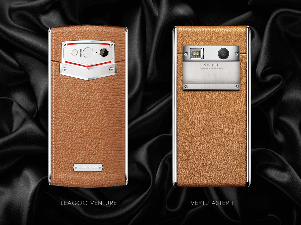 Leagoo Venture 1 vs Vertu Aster T [sponzorovaný článek]