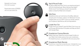 Motorola Connect Coin - s chytrou mincí nic neztratíte