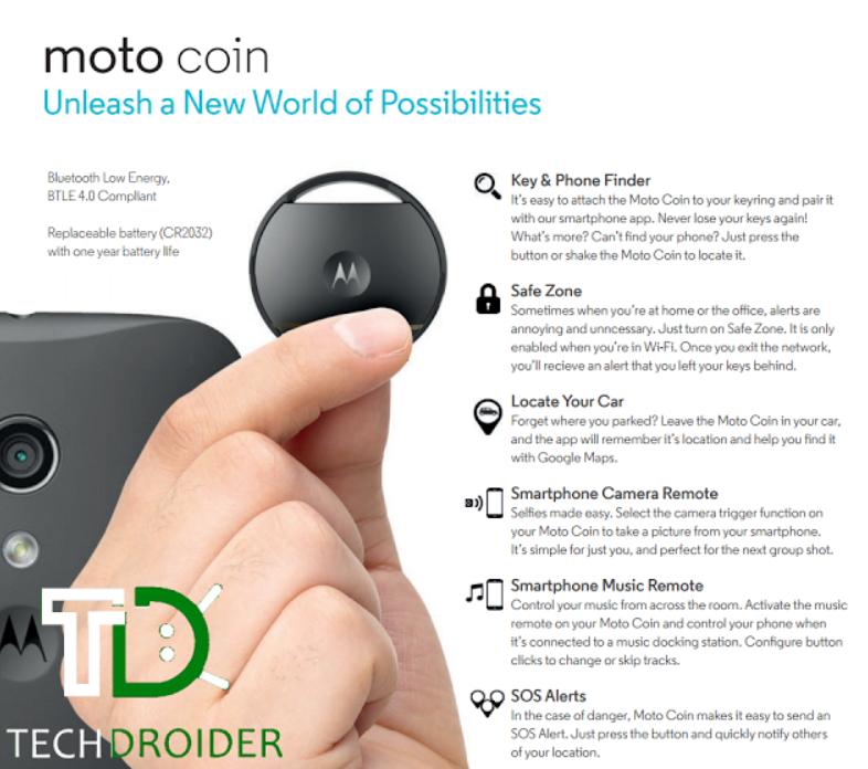 Motorola Connect Coin – s chytrou mincí nic neztratíte