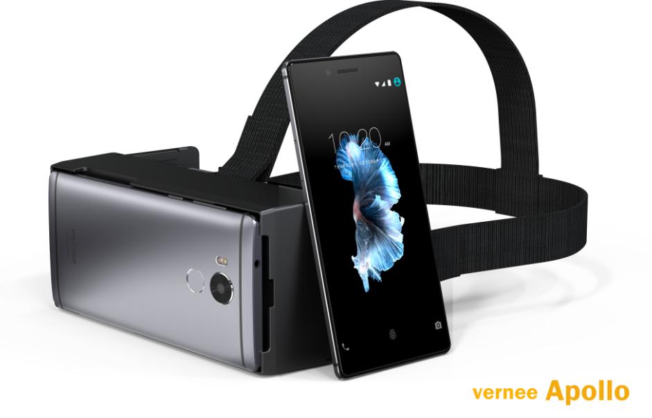 Vernee Apollo a mobil s novým procesorem Helio X25