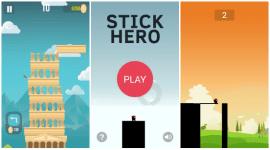 Stick Hero a The Tower – oddechovky pro delší chvilky