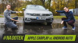 Na Dotek - Apple CarPlay VS. Android Auto + recenze Yoga Book
