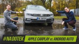 Na Dotek – Apple CarPlay VS. Android Auto + recenze Yoga Book