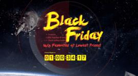 Černý pátek nabitý slevovými akcemi v obchodě Gearbest [sponzorovaný článek]