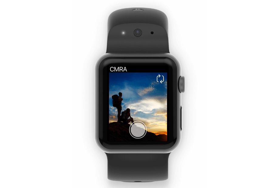 CMRA pásek umožní hodinkám od Applu pořizovat fotografie
