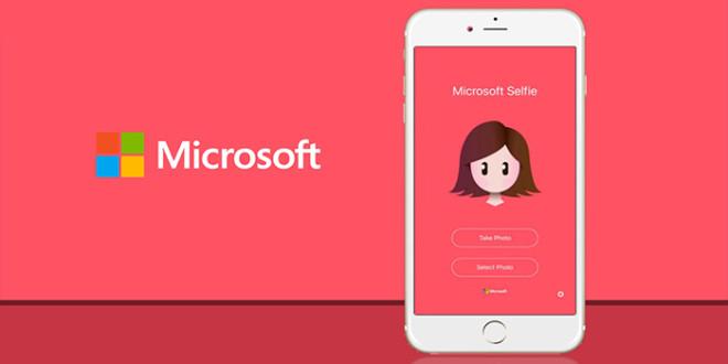 Microsoft uvolnil Selfie aplikaci pro Android