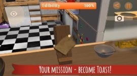 I Am Bread – šílený simulátor chleba nyní i pro Android