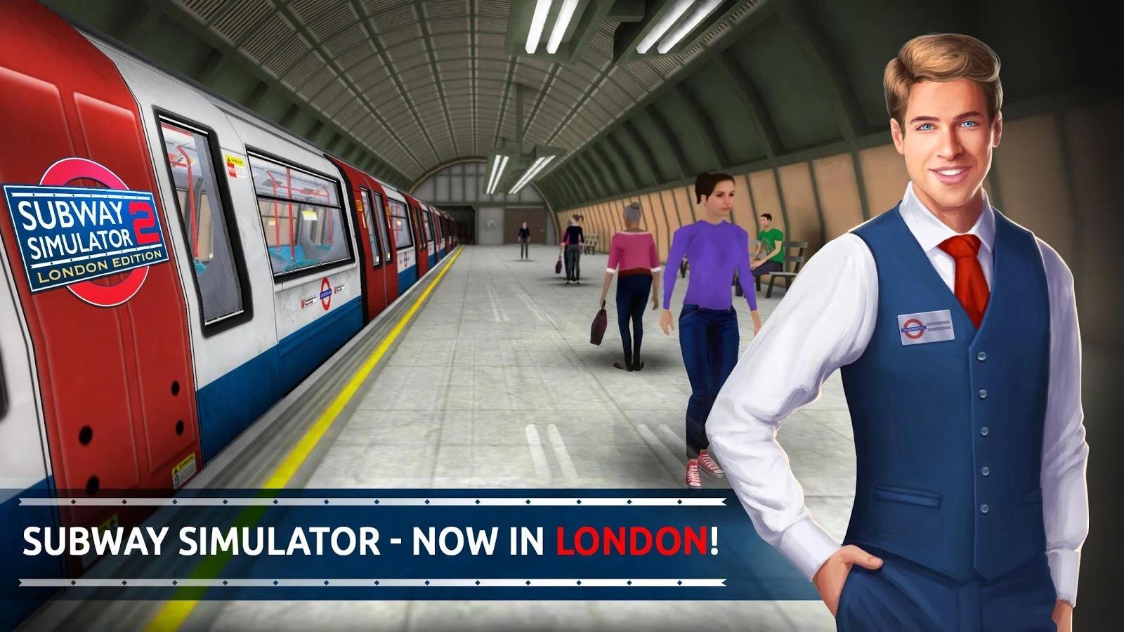 Cestujte metrem v Londýně