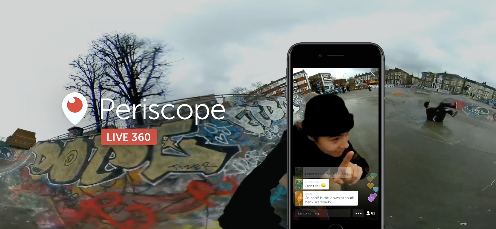 Twitter začíná podporovat 360° živé přenosy