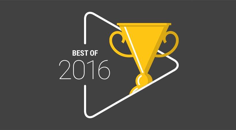 Nejpopulárnější hry, aplikace, hudba a filmy roku 2016 [Obchod Play]