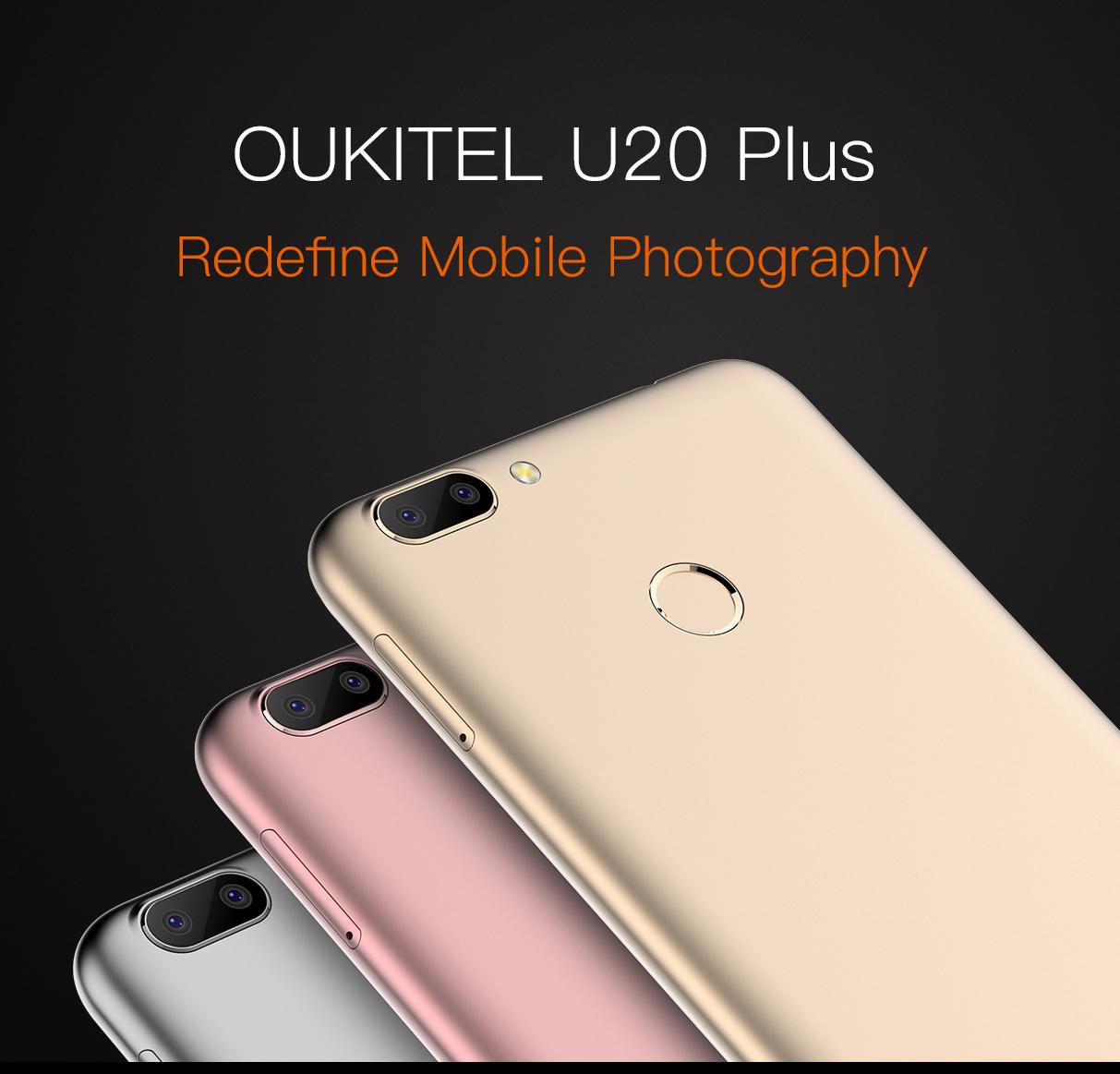 Oukitel U20 Plus – duální fotoaparát je v kurzu