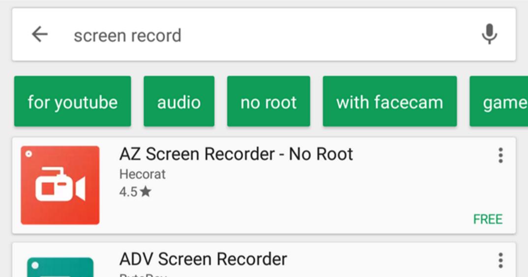 Google Play testuje nový prvek vyhledávání