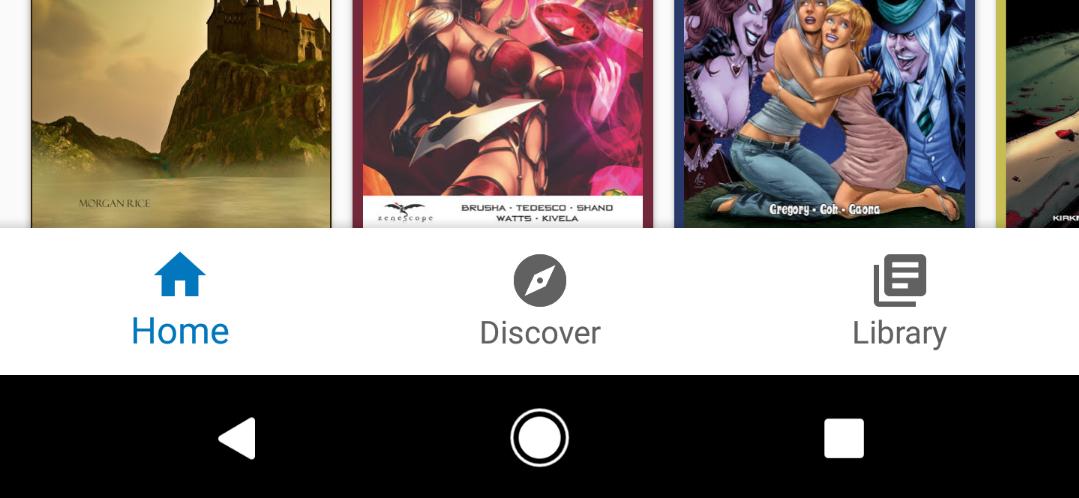 Knihy Google Play získávají spodní navigační lištu a další vylepšení