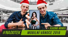Na Dotek – Xiaomi Mi Mix + Mobilní Vánoce 2016