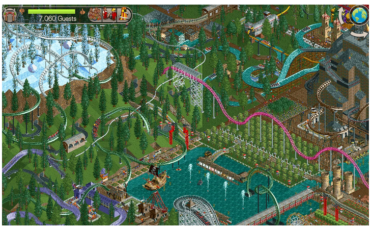 RollerCoaster Tycoon – legenda se vrací na Android a iOS