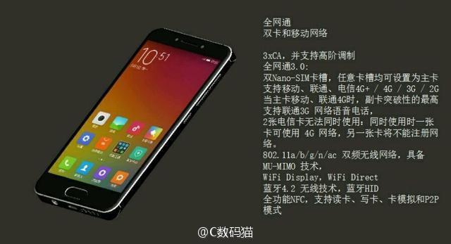Xiaomi Mi S má nabídnout malý displej a top specifikace