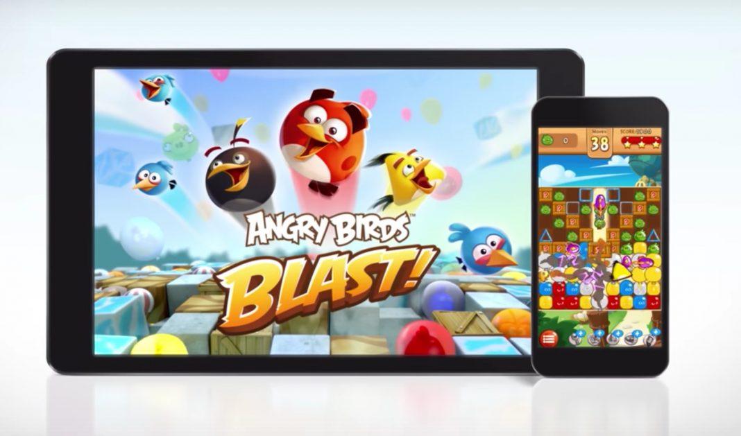 Angry Birds Blast – ptáci na další způsob
