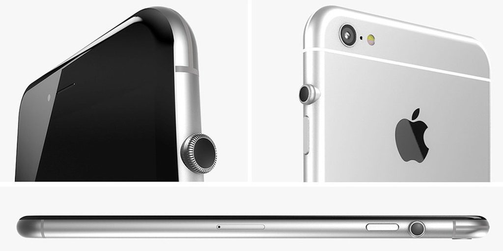 Apple si pohrává s myšlenkou Digital Crown na iPhonech