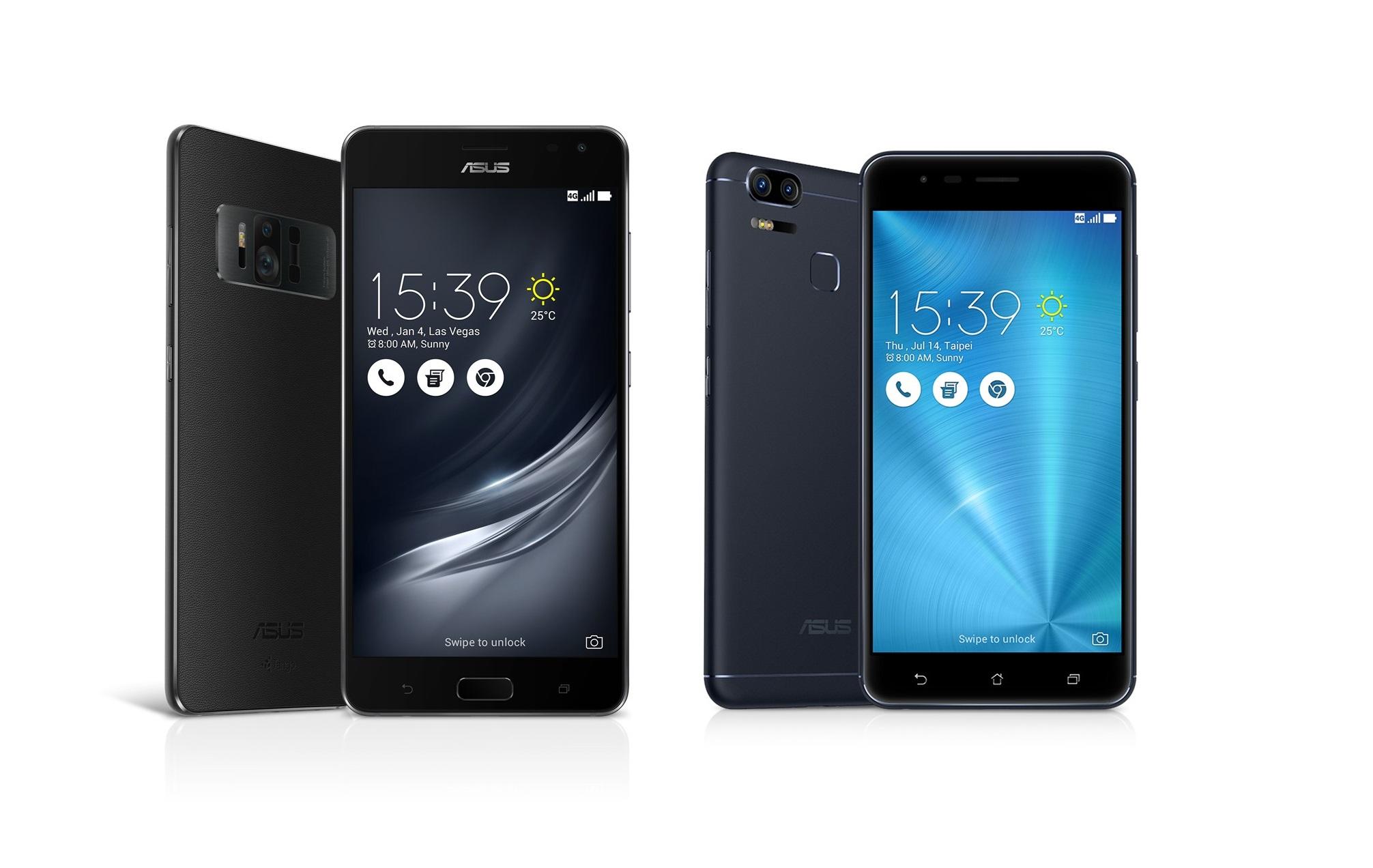 Asus na CESu představil ZenFone 3 Zoom a ZenFone AR