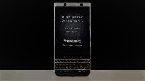 BlackBerry představí nový telefon Mercury ještě před veletrhem MWC