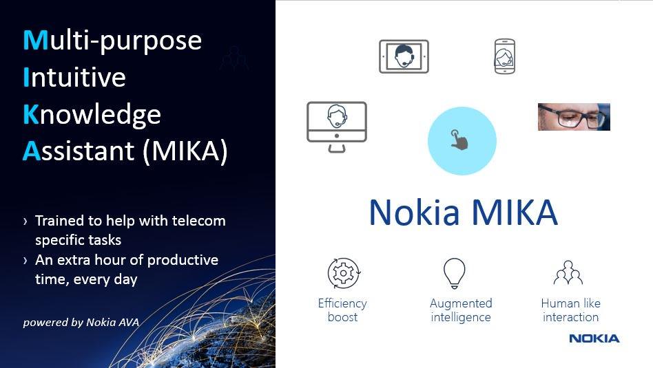 MIKA – nový asistent pro operátory z dílny Nokia