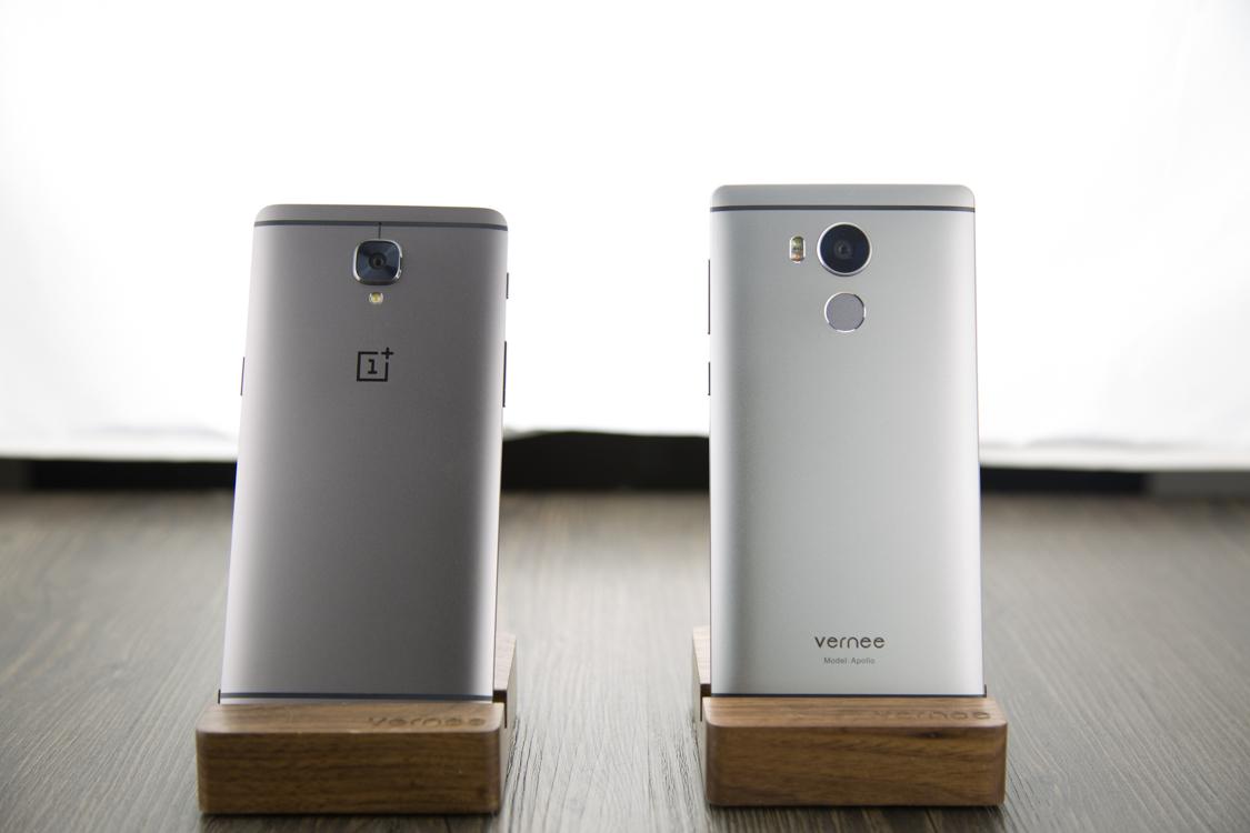 Porovnání telefonů One Plus 3T a Vernee Apollo – téměř totožné mobily, jen jiná cena a výkon [sponzorovaný článek]