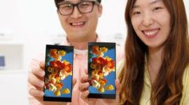 LG oznámilo první 5,7 palcové QHD + displeje s poměrem stran 18:9