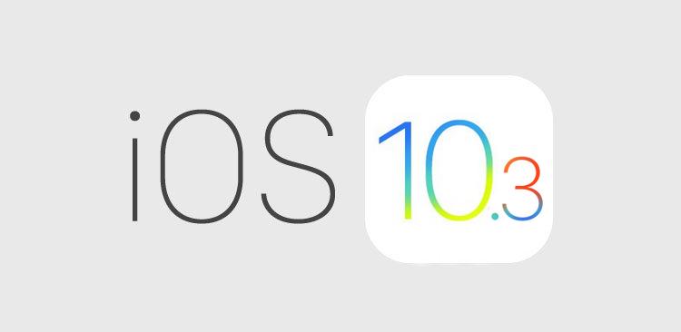 Apple vydal drobnou aktualizaci iOS 10.3.2