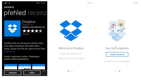 Dropbox má konečně aplikaci pro Windows Phone
