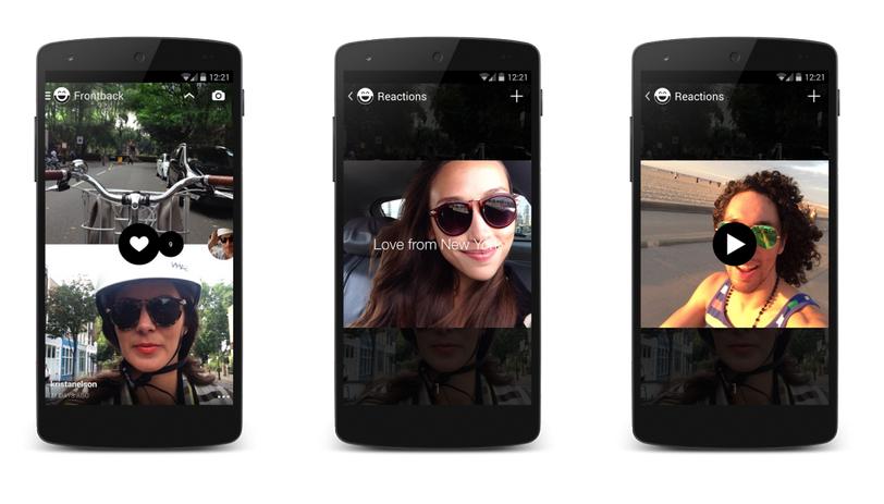 Frontback – Vylepšete své selfie