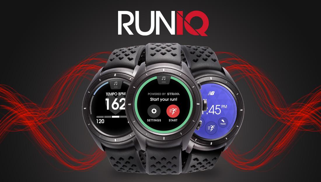 Nové hodinky RunIQ s Android Wear