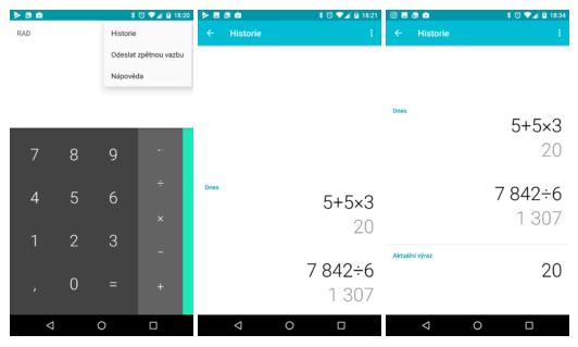 Google Kalkulačka dostává po dlouhé době aktualizaci