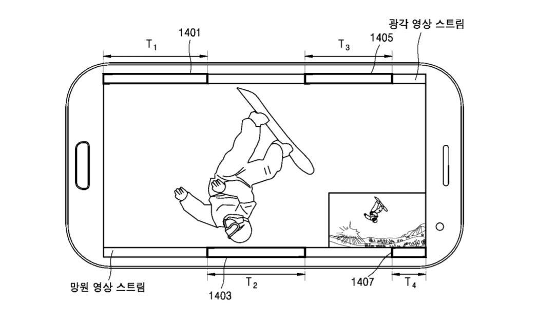 Samsung podal nový patent, který poodhaluje použití dvojice fotoaparátů