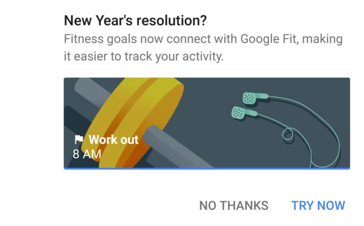 Google integroval aplikaci Fit do Kalendáře
