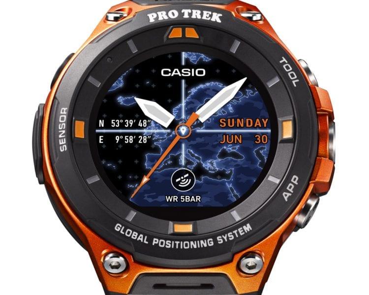 casio chytré hodinky