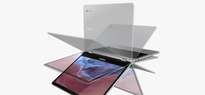 Samsung představil Chromebook Plus a Pro, lákají na stylus