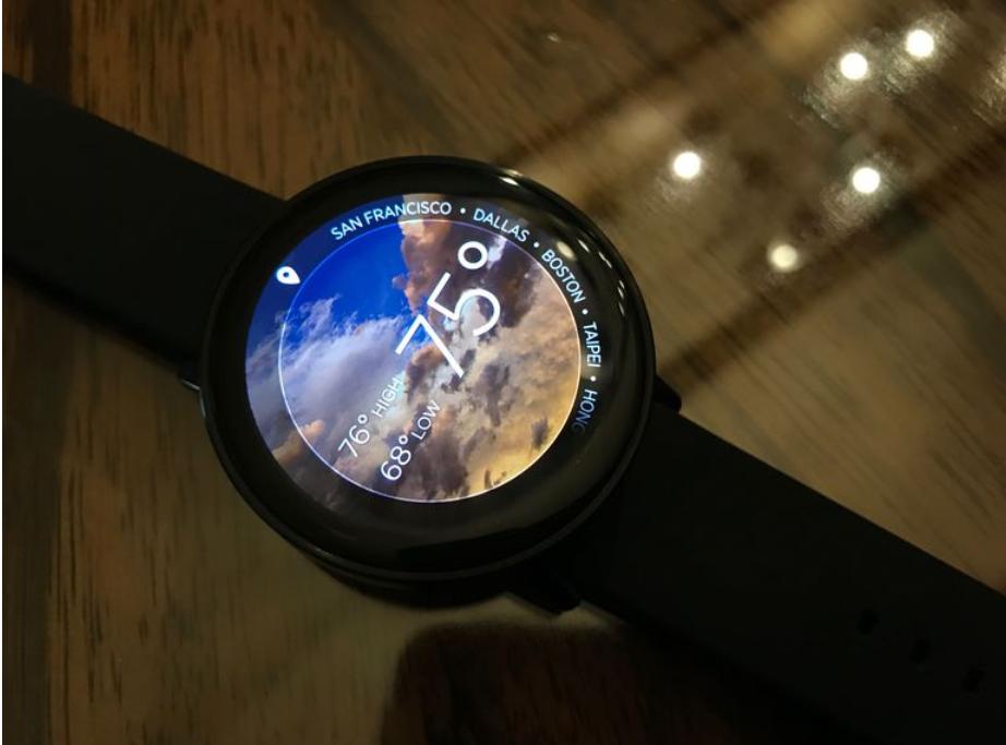 Nové hodinky Misfit Vapor na sledování pohybové aktivity jsou na světě, pyšní se precizní výbavou