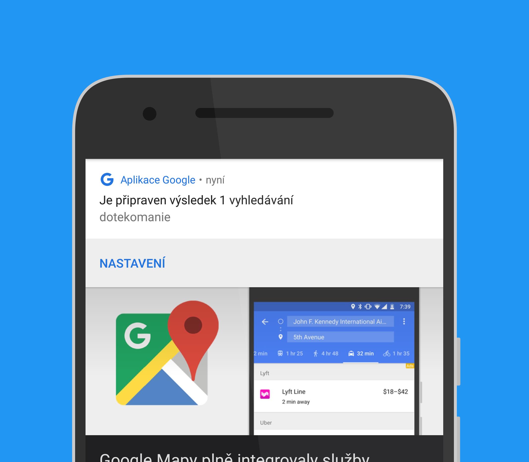 Google zavádí offline vyhledávání