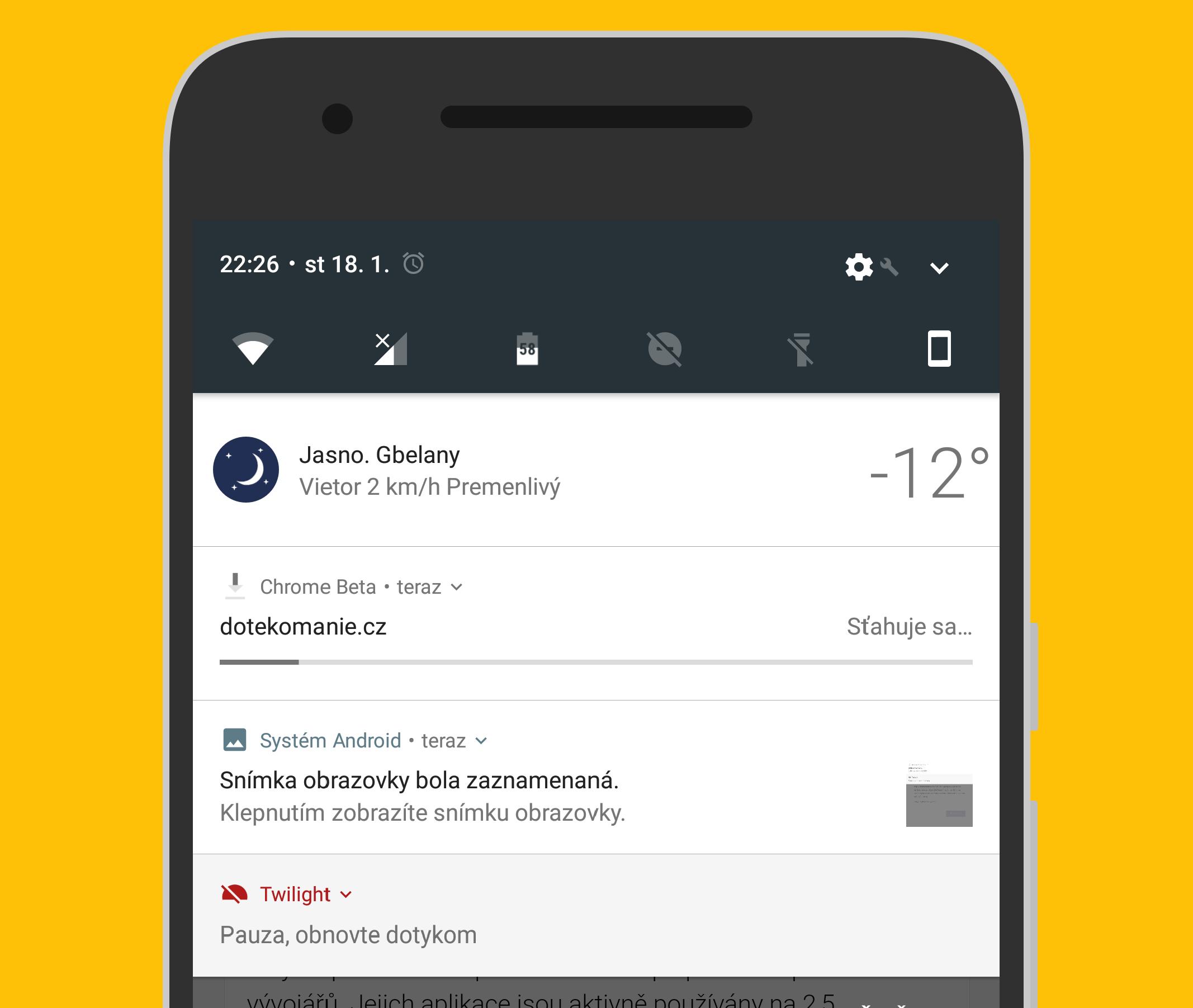 Chrome Beta získává novou offline funkci